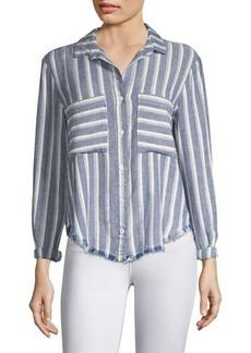 Bella Dahl Striped Button-Front Shirt
