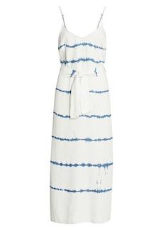 Bella Dahl Tie Dye Stripe Maxi Dress