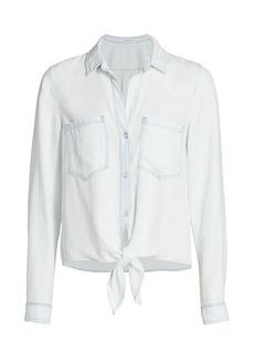 Bella Dahl Tie-Front Button-Up Shirt