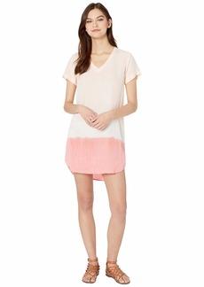 Bella Dahl V-Neck T-Shirt Dress