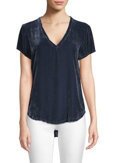Bella Dahl Velvet V-Neck T-Shirt