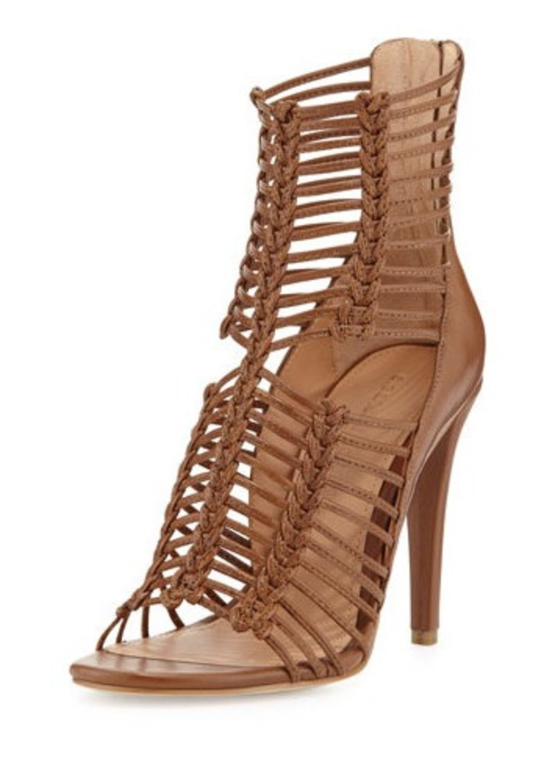 Belle Sigerson Morrison Belle By Sigerson Morrison Mella Strappy Leather Caged Sandal