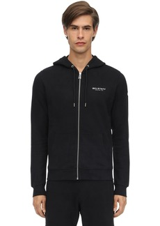 Belstaff 1924 Zip-up Cotton Sweatshirt Hoodie