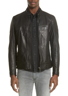 Belstaff A Racer Leather Moto Jacket