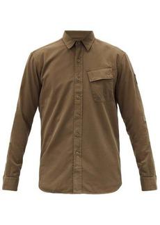 Belstaff Asymmetric-pocket cotton shirt