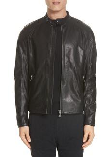 Belstaff B-Racer Leather Jacket