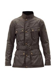 Belstaff Belted cotton jacket