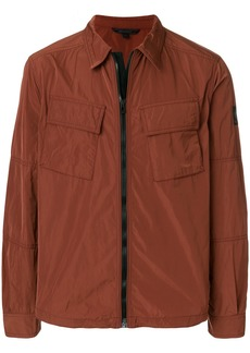 Belstaff cargo pocket zip jacket - Brown