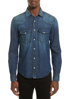 Belstaff Denim Western Shirt