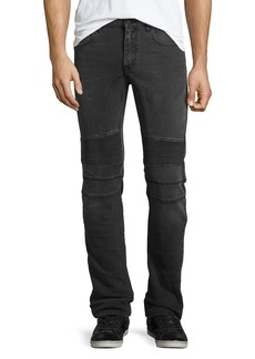 Belstaff Eastham Moto-Style Slim-Fit Jeans