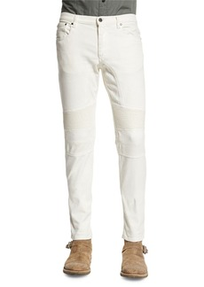 Belstaff Eastham Slim-Fit Moto Jeans  Natural White