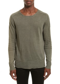 Belstaff Exford Linen Crewneck Sweater