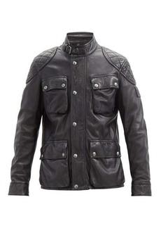 Belstaff Fieldbrook 2.0 leather field jacket