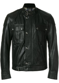 Belstaff fitted biker jacket - Black