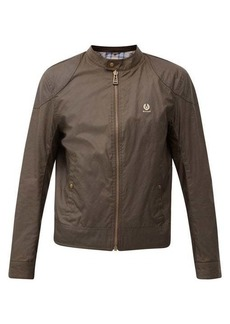 Belstaff Kelland waxed-cotton café racer jacket