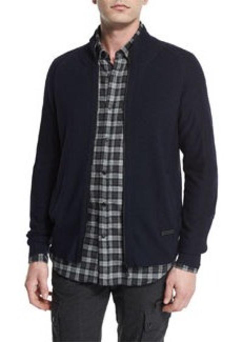 Belstaff Latham Merino Wool Zip-Up Sweater