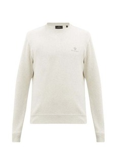 Belstaff Logo-embroidered cotton-jersey sweatshirt