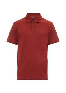 Belstaff Logo-embroidered cotton-piqué polo shirt