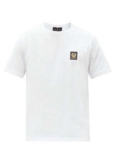 Belstaff Logo-patch cotton-jersey T-shirt