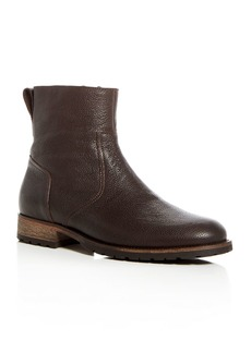 Belstaff Men's Atwell Pebbled Leather Boots