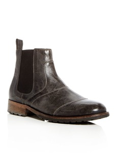 Belstaff Men's Lancaster Leather Chelsea Boots