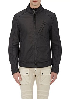 Belstaff Men's Zip-Front Buckled-Collar Blouson