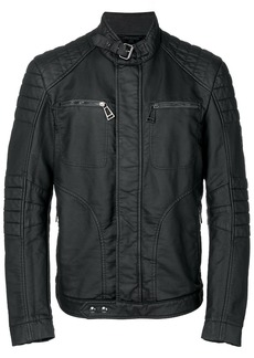 Belstaff New Weybridge rubberised fleece jersey jacket - Black