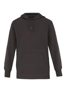 Belstaff Padox logo-embroidered hooded cotton sweatshirt