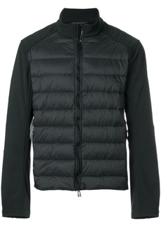 Belstaff panelled puffer jacket - Black