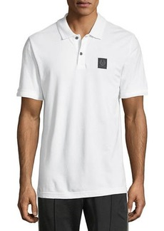 Belstaff Piqué-Knit Polo Shirt