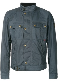 Belstaff slim-fit buckled jacket - Blue