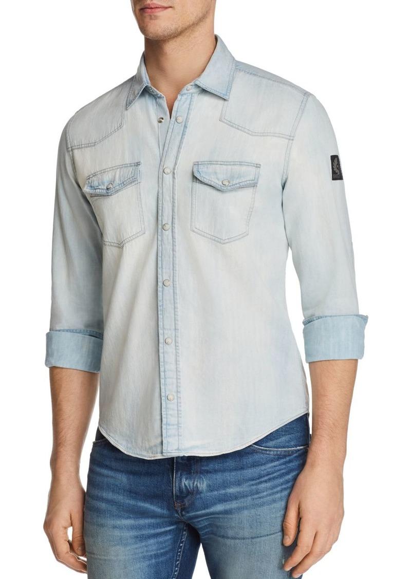 438d9de016 SALE! Belstaff Belstaff Somerford Western Denim Shirt