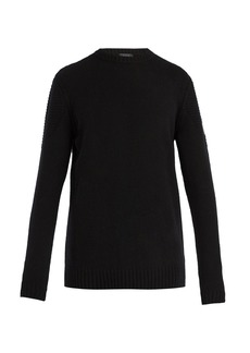 Belstaff South View crew-neck ribbed-knit sweater