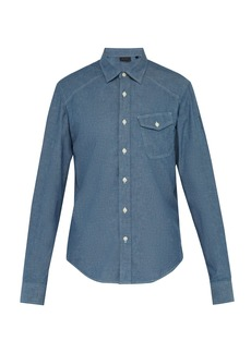 Belstaff Steadway chambray shirt