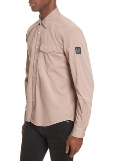 Belstaff Steadway Extra Slim Fit Sport Shirt