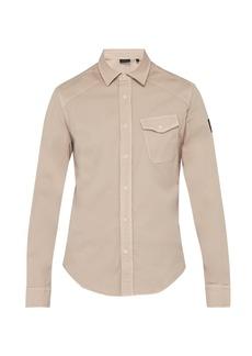 Belstaff Steadway stretch-cotton twill shirt