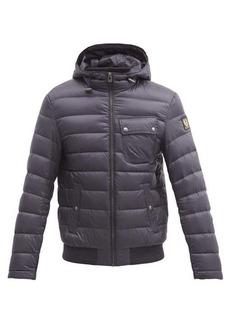 Belstaff Streamline quilted down hooded coat