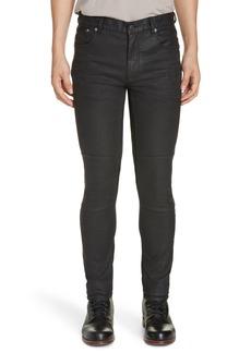 Belstaff Tattenhall Skinny Fit Coated Jeans