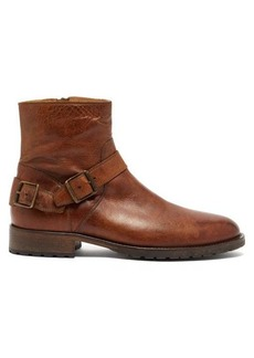Belstaff Trialmaster buckled leather boots