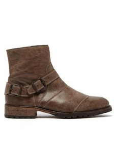 Belstaff Trialmaster leather ankle boots