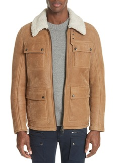 Belstaff Upland Genuine Shearling Jacket