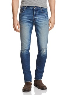Belstaff Westering Slim Fit Jeans in Faded Blue