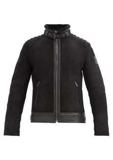 Belstaff Westlake 2.0 shearling-lined suede jacket