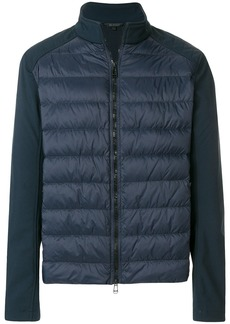 Belstaff zipped padded jacket - Blue