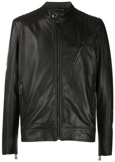Belstaff padded shoulders biker jacket