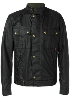 Belstaff coated patch pocket jacket