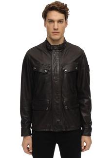 Belstaff Denesmere Leather Biker Jacket