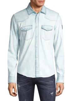Belstaff Denim Button-Down Shirt