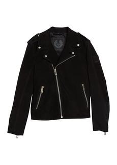 Belstaff Edmunds Suede Moto Jacket
