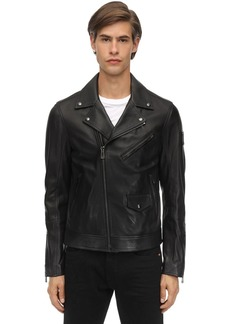 Belstaff Fenway Polished Leather Jacket